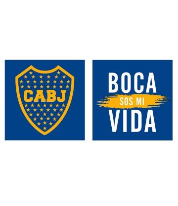 Combo Cuadritos Boca Juniors - Usando SALE50 $ 100