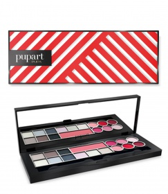 Pupa Art Palette Red Cold