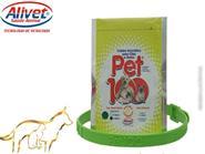 Proteção Natural Para Seu Pet! COLEIRA AROMÁTICA PET 100 CITRONELA 3 coleiras p/ Cães e Gatos de R$ 90,00 por apenas R$ 67,50.