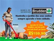 Aparador de Grama Brudden RT60 Com fio de Nylon + Frete Grátis de R$ 220,00 por apenas R$ 159,90.