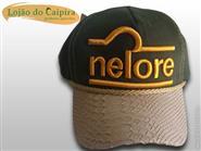 Bone Nelore c/ Aba em Couro + Frete Grátis de R$ 89,00 por apenas R$ 59,90.