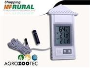 Saiba a Temperatura! Termômetro Higrômetro Digital Externo/Interno Máx/Mín + Frete Grátis de R$ 179,49 apenas R$ 129,90.