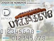 Jogo de Números para Marcadores de Gado de 7cm + Frete Grátis de R$ 489,00 por apenas R$ 379,90.