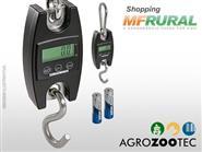 Balança Portátil Digital c/ Gancho para 300 kg + Frete Grátis de R$ 596,98 por apenas R$ 449,90.