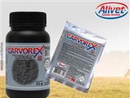 Adsorvente de toxinas e venenos – Carvorex ! Pack com 12 saches de 8g de R$ 150,00 por R$ 135,00 + Frete Grátis.