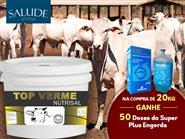 Vermífugo de Cocho e Mineralizante!!! TOP Verme Nutrisal pote de 1kg + Frete Grátis de R$ 139,00 por apenas R$ 95,00.