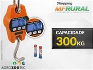 Balança Digital c/ Gancho para 300 kg + Frete Grátis de R$ 420,00 por apenas R$ 349,90.