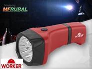 Lanterna Recarregável Worker Comfort 9 Leds Luz Branca + Frete Grátis por apenas R$ 64,90.
