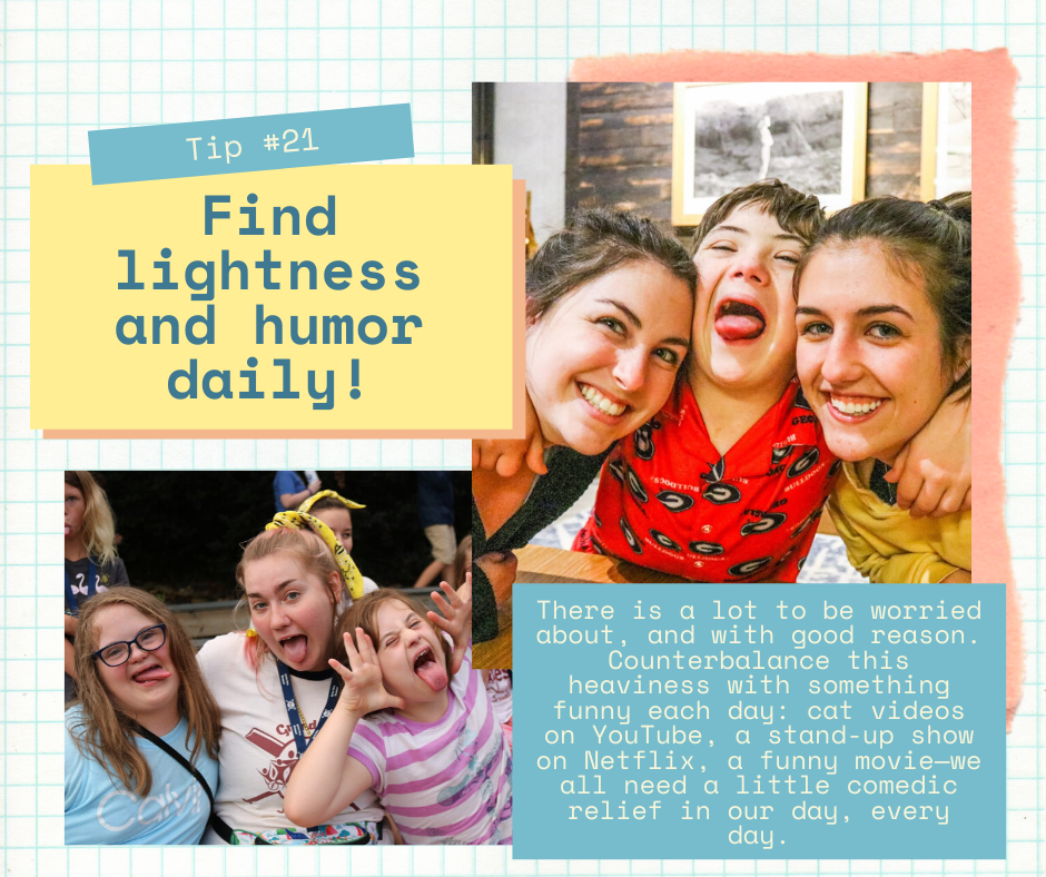 Mind Over Madness Tip 21 Find Lightness And Humor Daily Extra