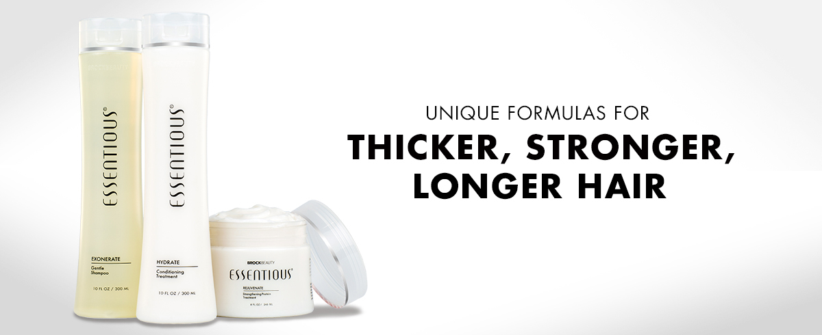 Unique formulas for thicker, longer, stronger hair.