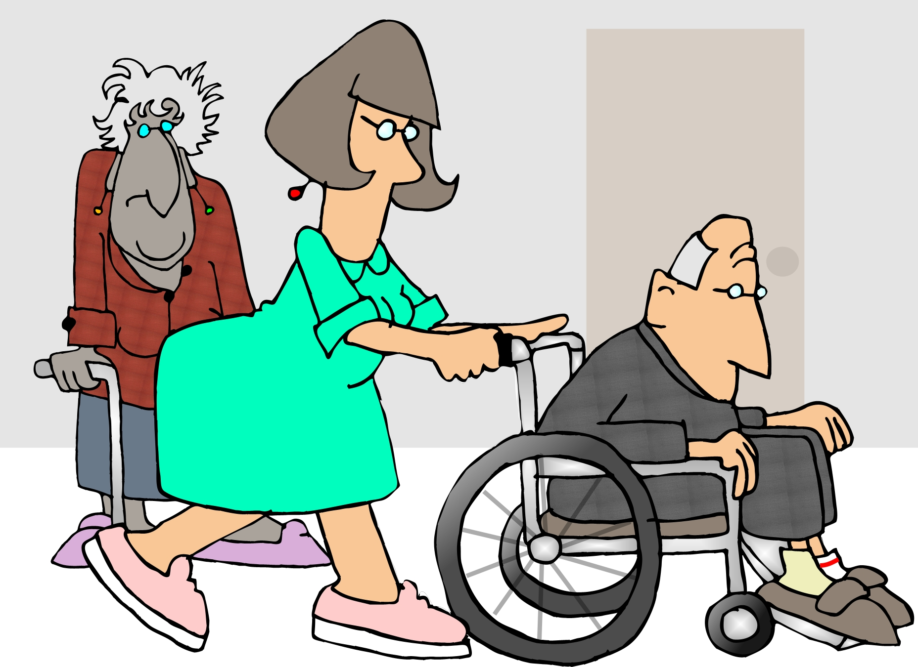 Older people drawing image in Cliparts category at pixy.org