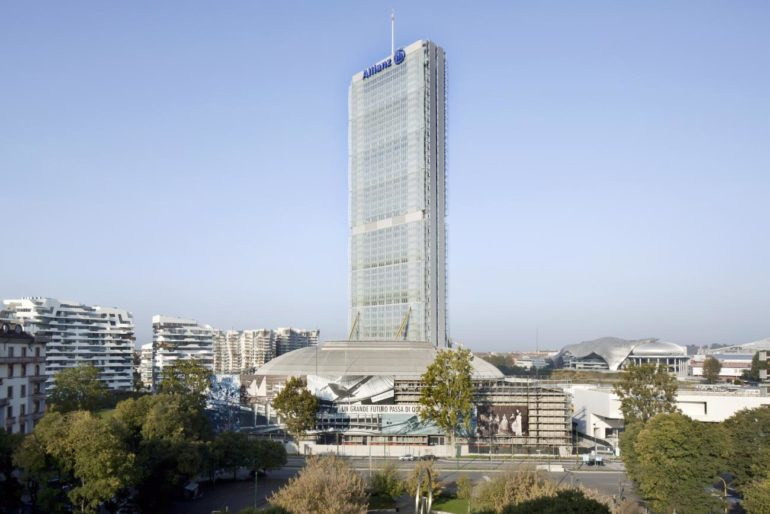01, Overall view from east, Allianz Tower (2014), Alessandra CHEMOLLO