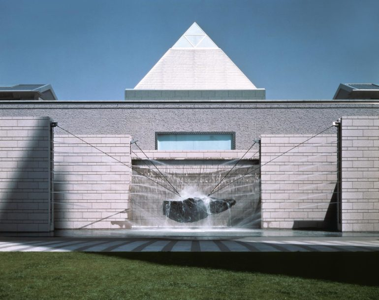 06, The exterior of gallery, Art Tower MITO (1990), Yasuhiro ISHIMOTO