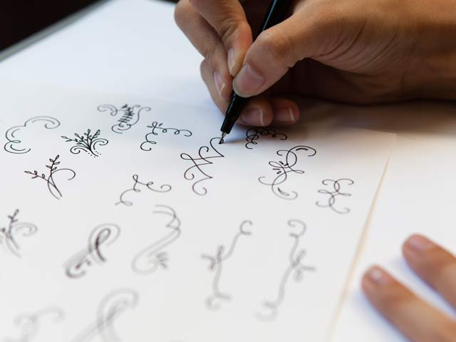Learn how to draw flourishes