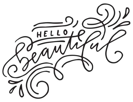 Beautiful Hand Lettered Flourishes