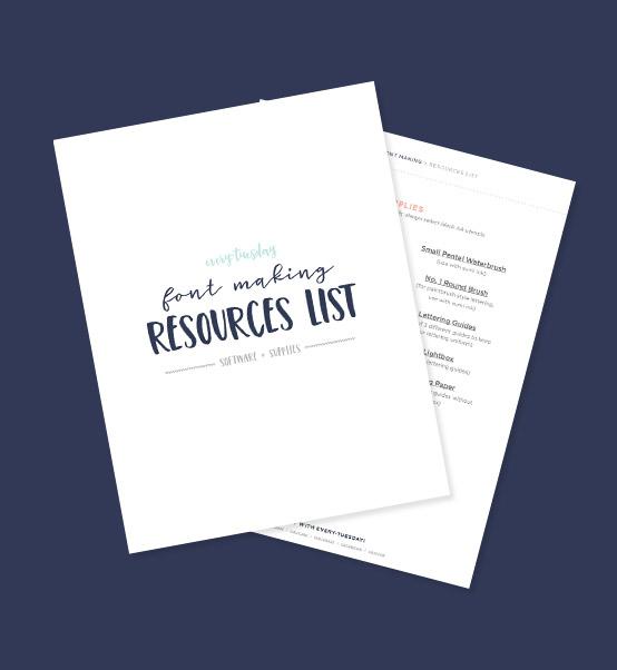 Class Resource List