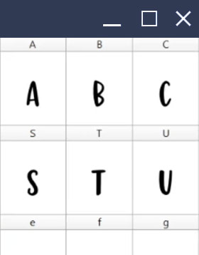 Learn Font Making Interface PC