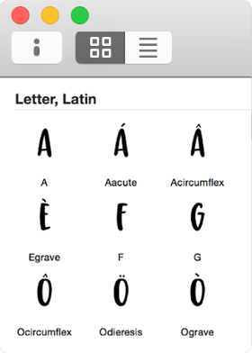 Learn Font Making Interface