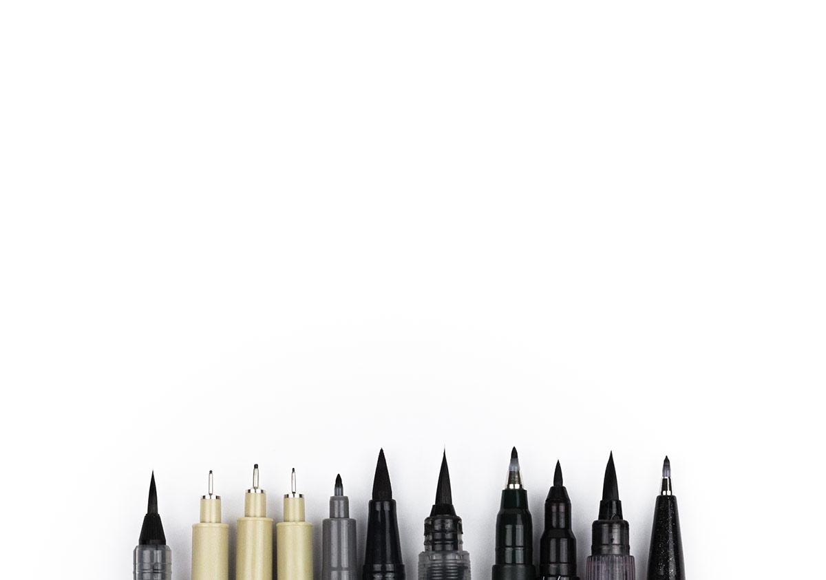 Font Making Pens