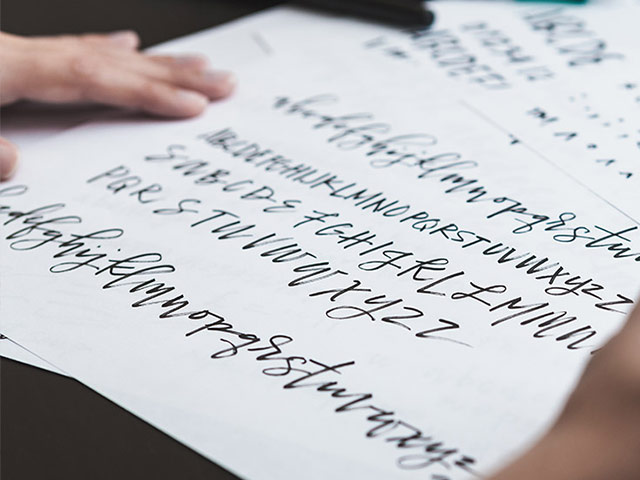 Create a font and make money