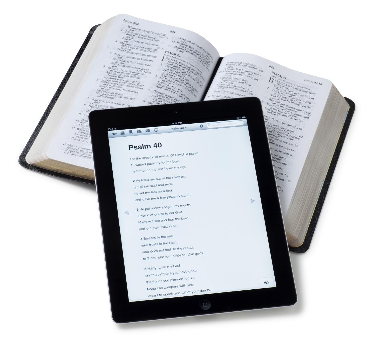 Bible Print vs Digital