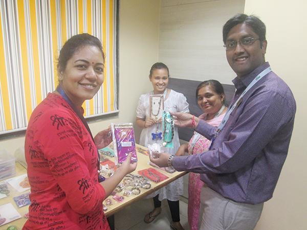 Handicrafts Exhibition from Disha Charitable Trust