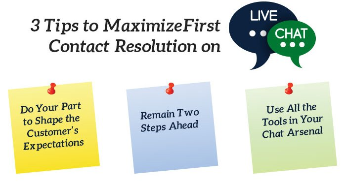 3 Tips to Maximize First Contact Resolution on Live Chat