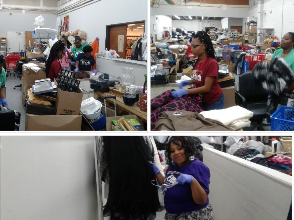 Etech Give Back Program – Thrift Store, Dallas