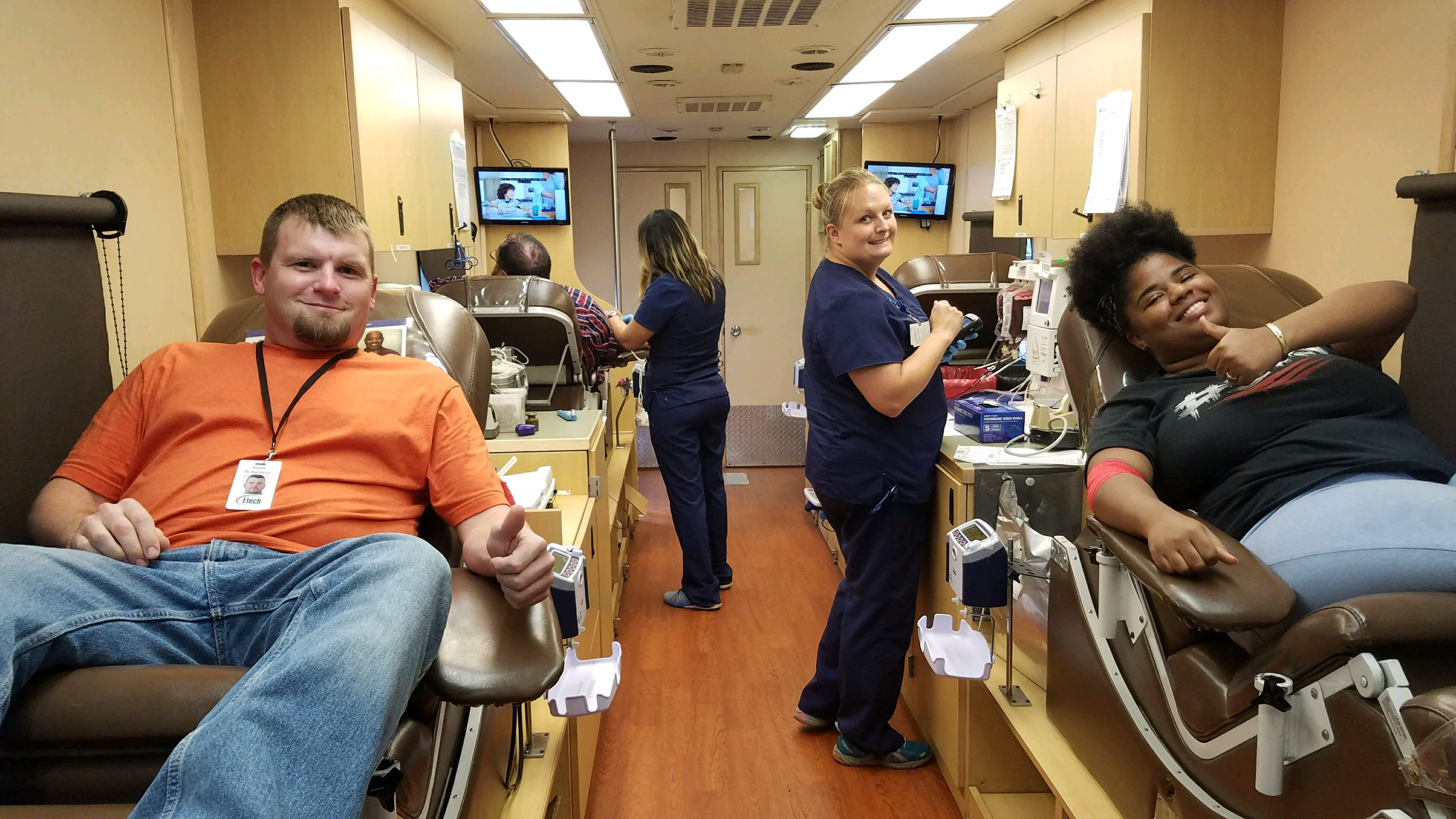 Etech Give Back Program – Lufkin Blood Drive