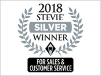 2018, Stevie Awards for Sales & Customer Service