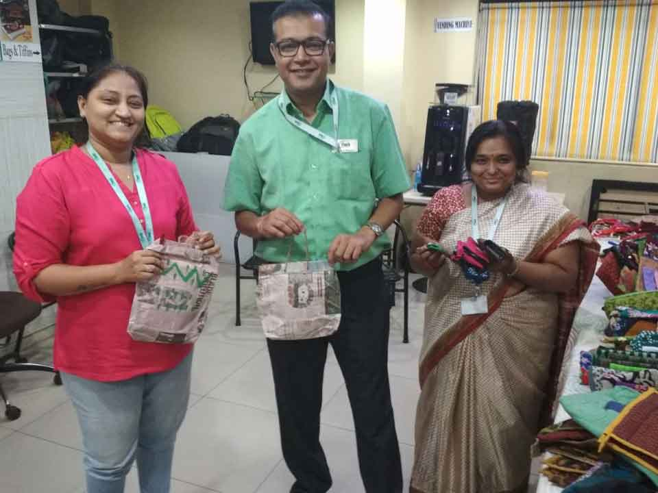 Etech Give Back Program– Handicraft Exhibition at Vadodara
