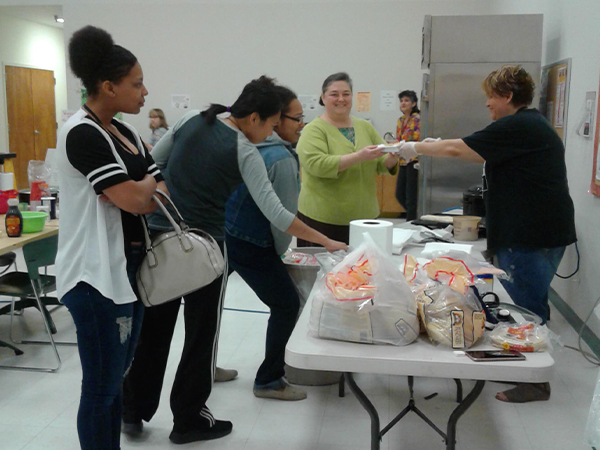 Etech Give Back Program – Spring Break Breakfast – Lufkin