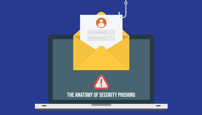 The Anatomy of Security Phishing