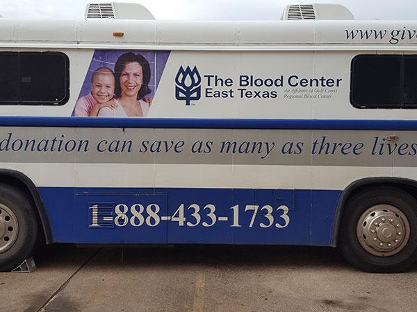 Etech Give Back Program – Blood Drive at Lufkin