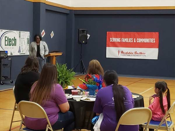 Etech Give Back Program – Lufkin Team Served Cancer Patients Through the Relay for Life Survival Dinner