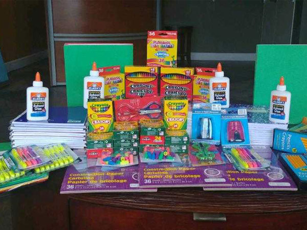 School Supply Drive at Palm Beach