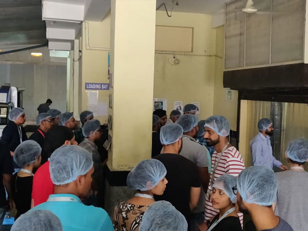 Etech Give Back Program- Team Vadodara Visited Akshaya Patra Foundation