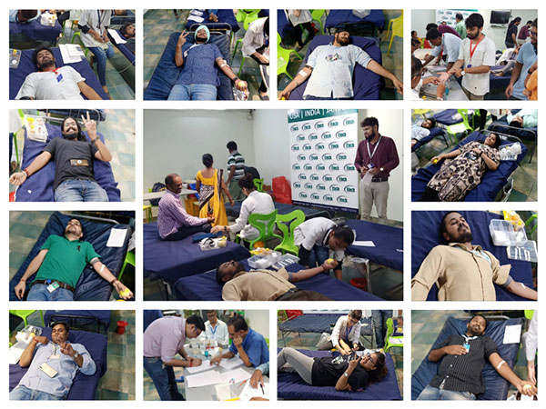 Etech Vadodara Team Passionately Took Part in a Blood Drive