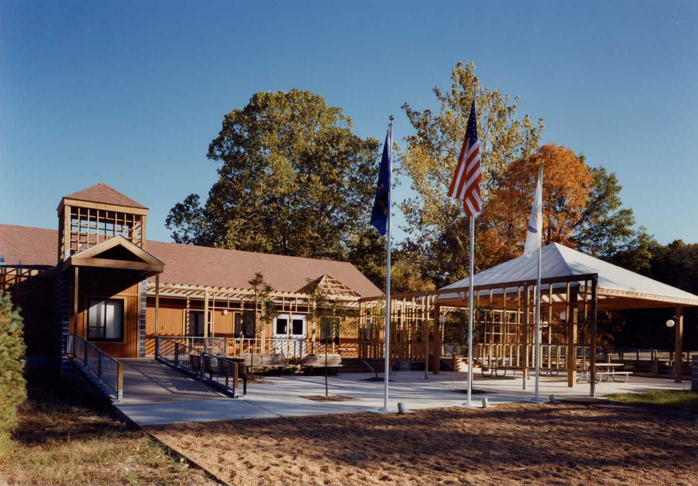 Camp Grizzly Cub, Beaumont Scout Reservation – Etegra