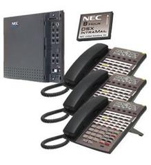 NEC DSX40 and IntraMail and 3 34B Phones