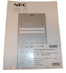 NEC SL1100 1100066 Desi Sheet 12 Button Telephone