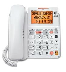 AT&T Corded Answering System with Large Displat - CL4940