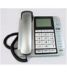 RCA Corded Desk Phone, CID,ITAD, Tilt Screen - 1114-1BSGA