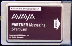 Partner Messaging 2 Port Card