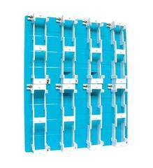 SUTTLE 1 Sutttle Backboard-8 Block - Blue (A183B1)