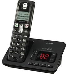 RCA Consumer DECT 6.0 Cordless Digital Phone w/ ITAD (2102-1BKGA)