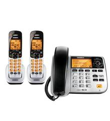 Uniden Corded Cordless with 2-Handsets (D1788-2)