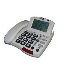 Fans-Tel 50dB Amp Speakerphone WHITE (ST50)