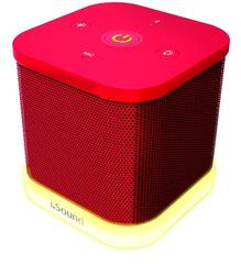 DreamGear iGlowSound Cube - Red (iSound-5415)