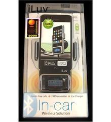 JWIN Bluetooth Car Kit w/ FM Transmitter (I-730)